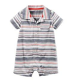 Carter's® Baby Boys' Multi Striped Woven Romper