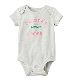 Carter's® Baby Girls' Mom's The Boss Bodysuit