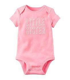 Carter's ® Baby Girls' Little Sister Bodysuit