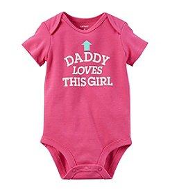 Carter's® Baby Girls' Dad Loves Me Bodysuit