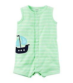 Carter's® Baby Boys Striped Sailboat Creeper