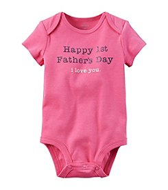 Carter's® Baby Girls' 1st Fathers Day Bodysuit
