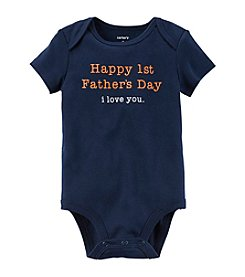 Carter's® Baby Boys 1st Fathers Day Bodysuit