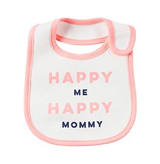 Carter's® Baby Girls' Happy Me Happy Mommy Bib