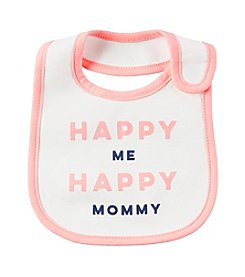 Carter's® Baby Girls' Happy Me Happy Mommy Bib