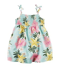 Carter's® Baby Girls' Palm Floral Printed Dress
