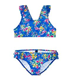 Polo Ralph Lauren® Girls' 2T-6X 2-Piece Floral Swimsuit