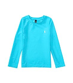 Polo Ralph Lauren® Girls' 2T-6X Rashguard Swim Coverup