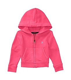 Polo Ralph Lauren® Girls' 2T-6X Terrry Zip Up Hoodie
