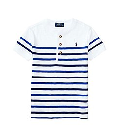 Polo Ralph Lauren® Boys' 2T-7 Short Sleeve Henley Top