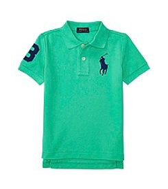 Polo Ralph Lauren® Boys' 2T-7 Short Sleeve Big Pony Top