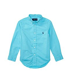 Polo Ralph Lauren® Boys' 2T-7 Long Sleeve Button-Down Shirt