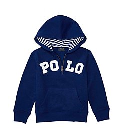 Polo Ralph Lauren® Boys' 2T-7 Long Sleeve Hoodie