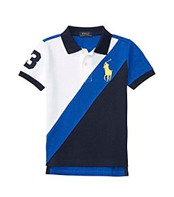 Polo Ralph Lauren® Boys' 2T-7 Banner Knit Top
