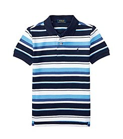 Polo Ralph Lauren® Boys' 2T-7 Short Sleeve Striped Top