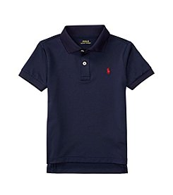 Polo Ralph Lauren® Boys' 2T-7 Solid Short Sleeve Knit Top