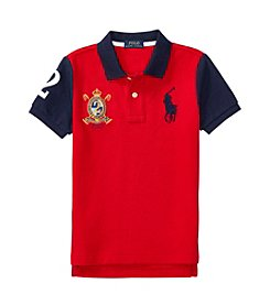 Polo Ralph Lauren® Boys' 2T-7 Short Sleeve Color Block Top