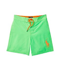 Polo Ralph Lauren® Boys' 2T-7 Poly Twill Board Shorts