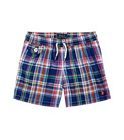Polo Ralph Lauren® Boys' 2T-7 Poly Traveler Swim Boxer Shorts
