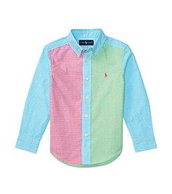 Polo Ralph Lauren® Boys' 2T-7 Poplin-Fun Shirt