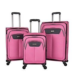 Kenneth Cole REACTION® Bryant Park Lightweight Pink Luggage Collection