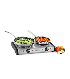 Cuisinart® Cast Iron Double Burner