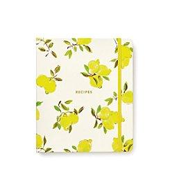 kate spade new york® Lemon Recipe Book