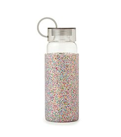 kate spade new york® Glitter Water Bottle