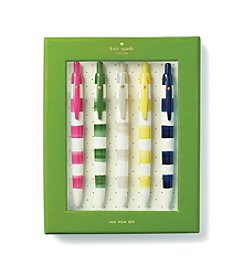 kate spade new york® Rugby Stripe Pen Set