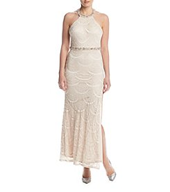 My Michelle® Scallop Lace Dress