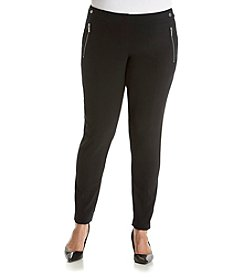 MICHAEL Michael Kors® Plus Size Zipper Pocket Leggings