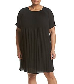 MICHAEL Michael Kors® Plus Size Pleated Dress