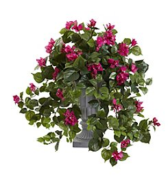Nearly Natural® Bougainvillea with Decorative Urn