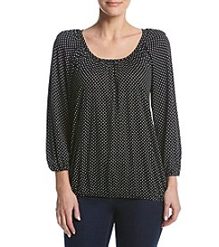 MICHAEL Michael Kors® Dot Printed Knit Top
