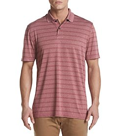 John Bartlett Consensus Men's Striped Performance Polo