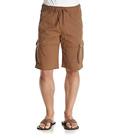 Hollywood the Jean People Men's Vester Pull-On Twill Cargo Shorts