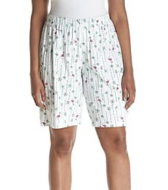 HUE® Plus Size Flamingo Bermuda Pajama Short