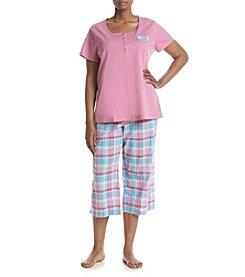 Intimate Essentials® Plus Size Capri Pajama Set