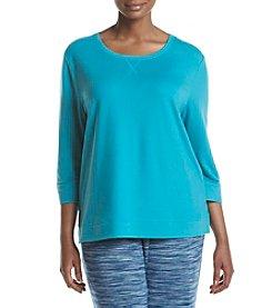 KN Karen Neuburger Plus Size Pajama Top