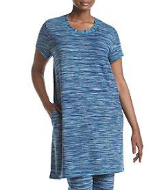 KN Karen Neuburger Plus Size Spacedye Pajama Tunic
