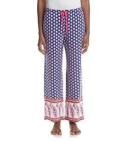 Ellen Tracy® Geo Leaf Palazzo Pajama Pants