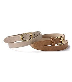 Steve Madden Belt Set