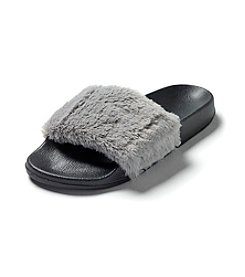 PJ Couture® All Fur Fun Slippers