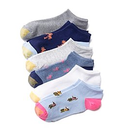 GOLD TOE® 6-Pack Beach Novelty Socks