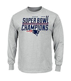 Majestic® NFL® New England Patriots Men's Super Bowl Champions Long Sleeve Tee