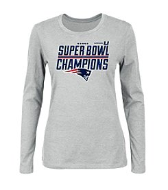 Majestic® NFL® New England Patriots Women's Super Bowl Champions Long Sleeve Tee