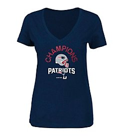Majestic® NFL® New England Patriots Women's Super Bowl Icon Short Sleeve Tee
