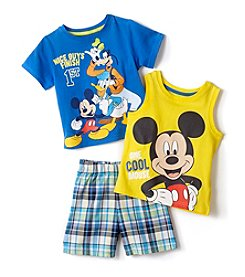 Nannette® Baby Boys Mickey Mouse Nice Guys Finish 1st