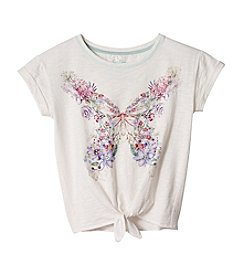 Jessica Simpson Girls' 7-16 Butterfly Blouse