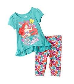 Disney® Girls' 2T-6X Ariel High-Low Tunic Leggings Set